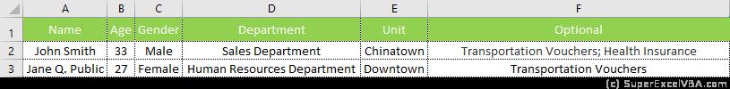 UserForm Data Added