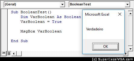 Teste Booleano