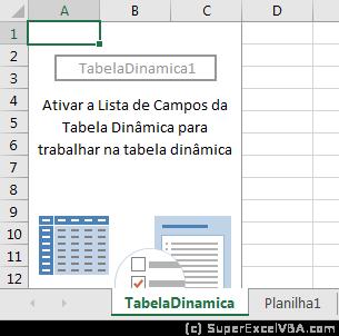 Tabela Dinâmica sem manipulação