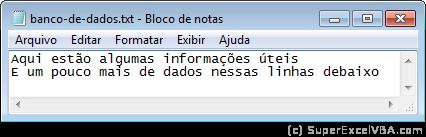 Banco TXT